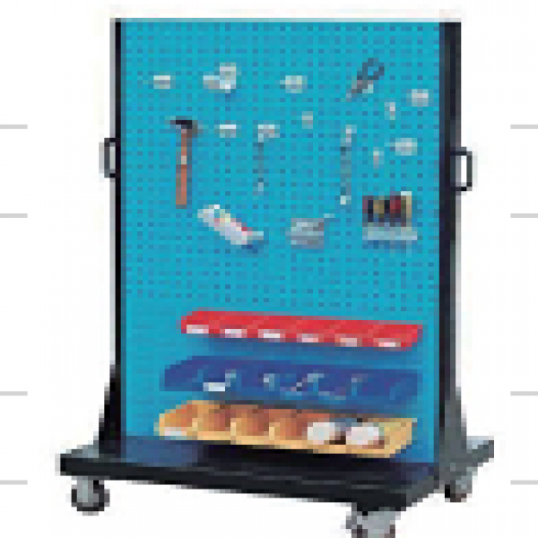 Bench accessory-mobile hanging board