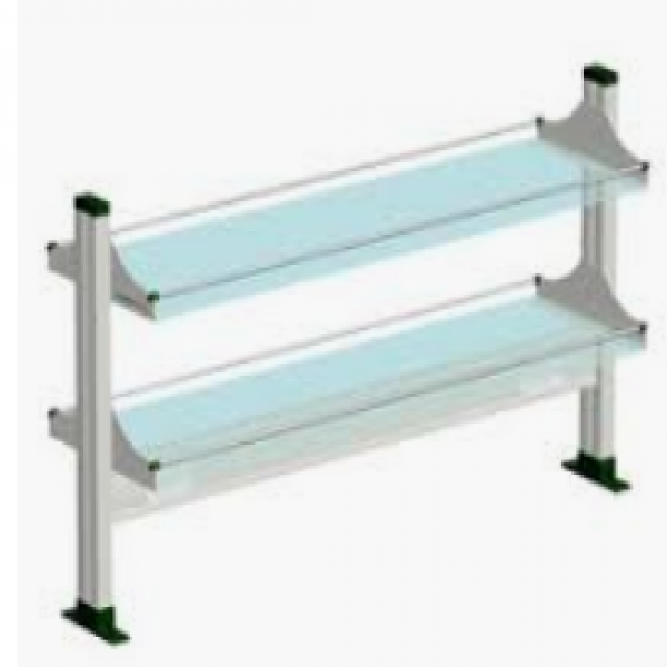 Bench accessory-Reagent shelve and pegboard